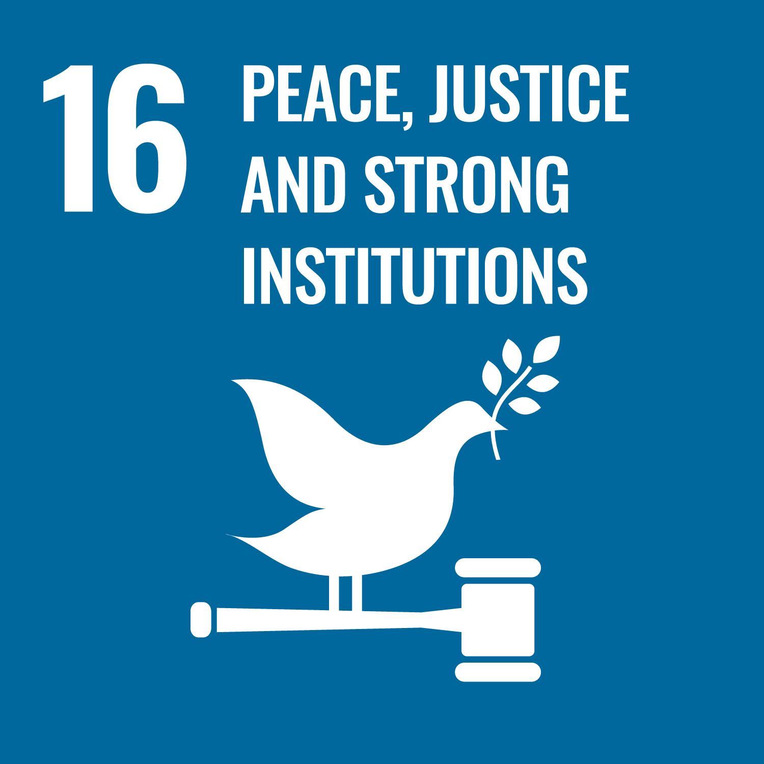 Peace, Justice and strong Institutions Image